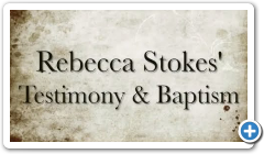 This Is How Rebecca Stokes became A Bornagain Christian
